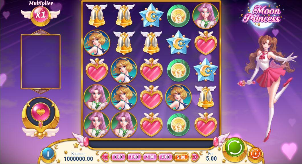 月の王女のゲームプレイ