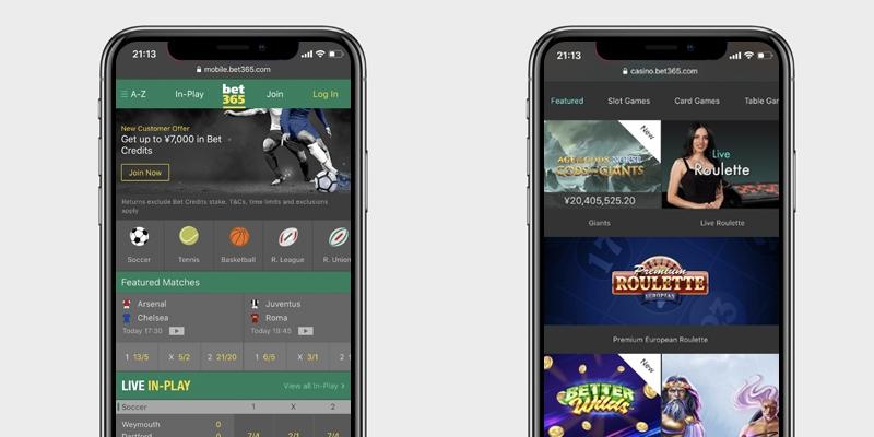 bet365スマホアプリ