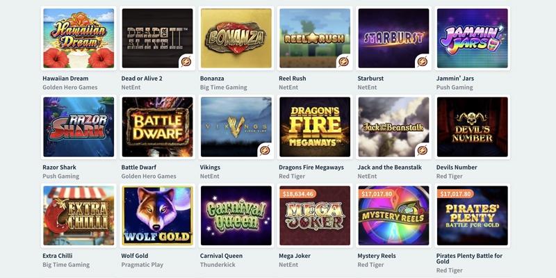 シンプルカジノゲームスロット