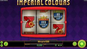 Imperial Colours(インペリアルカラーズ)スロットレビューRTPや機能、ボーナスについて